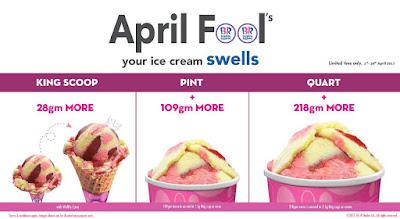 Malaysia Baskin Robbins Ice Cream Promo