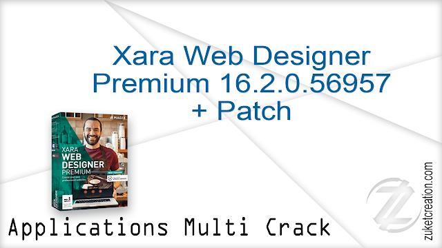 Xara Web Designer Premium 16.2.0.56957 + Patch  |  142 MB