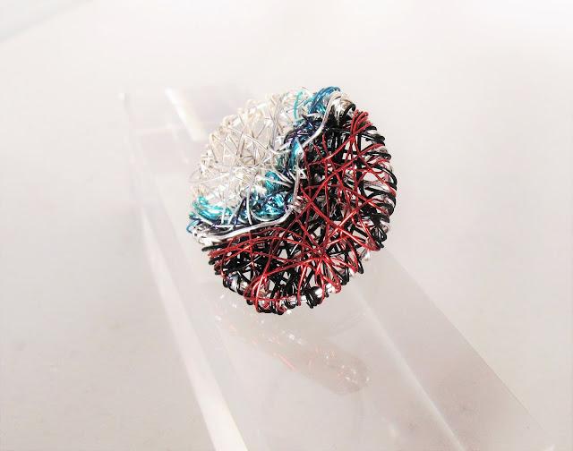 art ring, modern ring