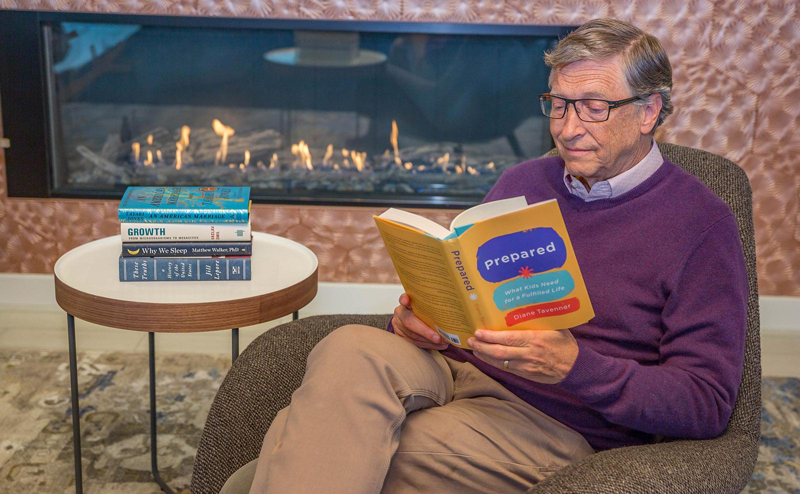 Bill Gates dan Sejumlah Buku yang Dibacanya Menjelang 2020