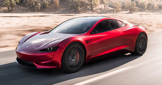 Elon Musk Wants To Give New Tesla Roadster Rocket Technology