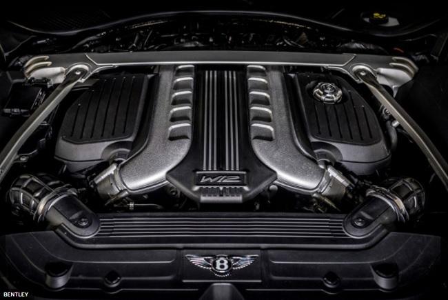 Mesin W-12 6.0 Liter Bentley Continental GT Speed