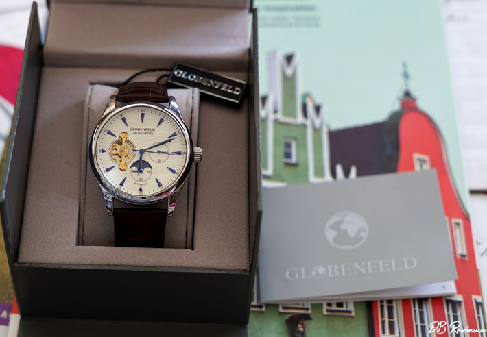 Globenfeld Limited Edition Antique Blue Steel Men's Automatic Watch