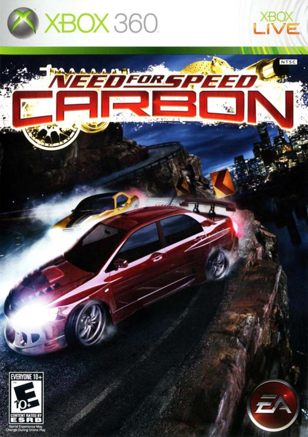 NFS Carbon Download Cover Free Game