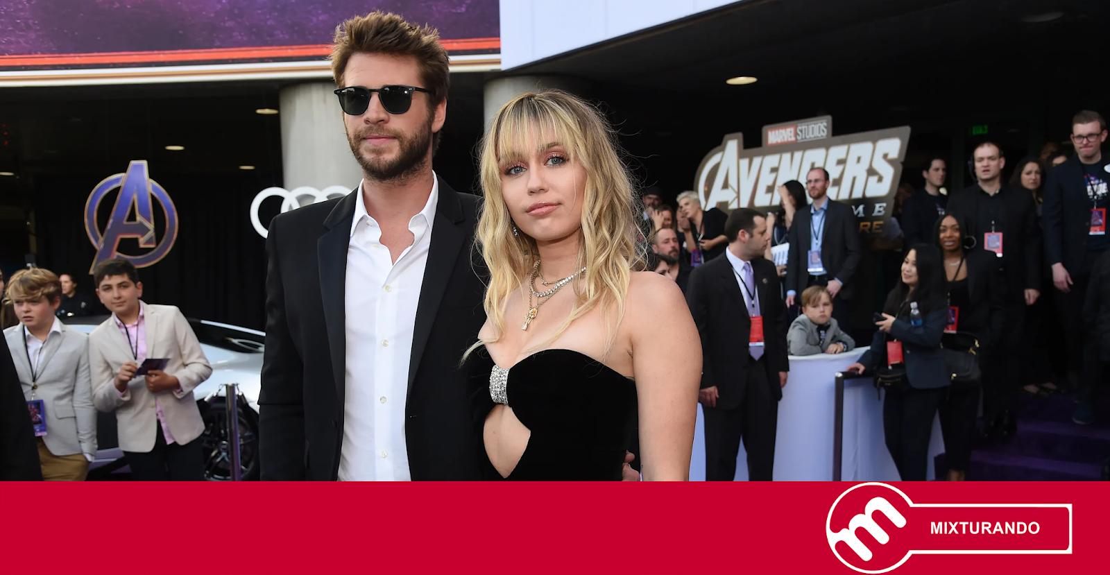 Liam Hemsworth fala publicamente sobre término com Miley Cyrus