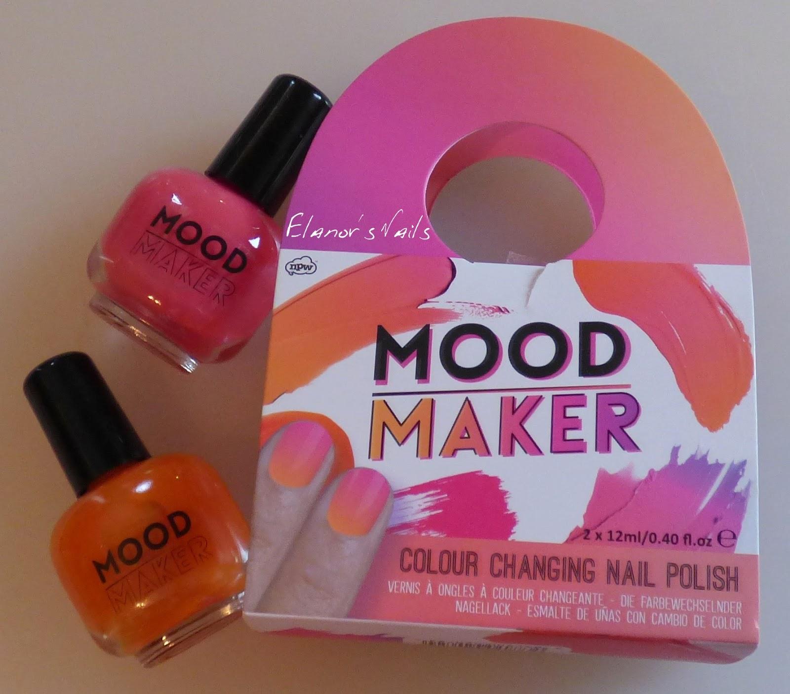 Elanor\'s Nails: Mood Maker Pink Thermal