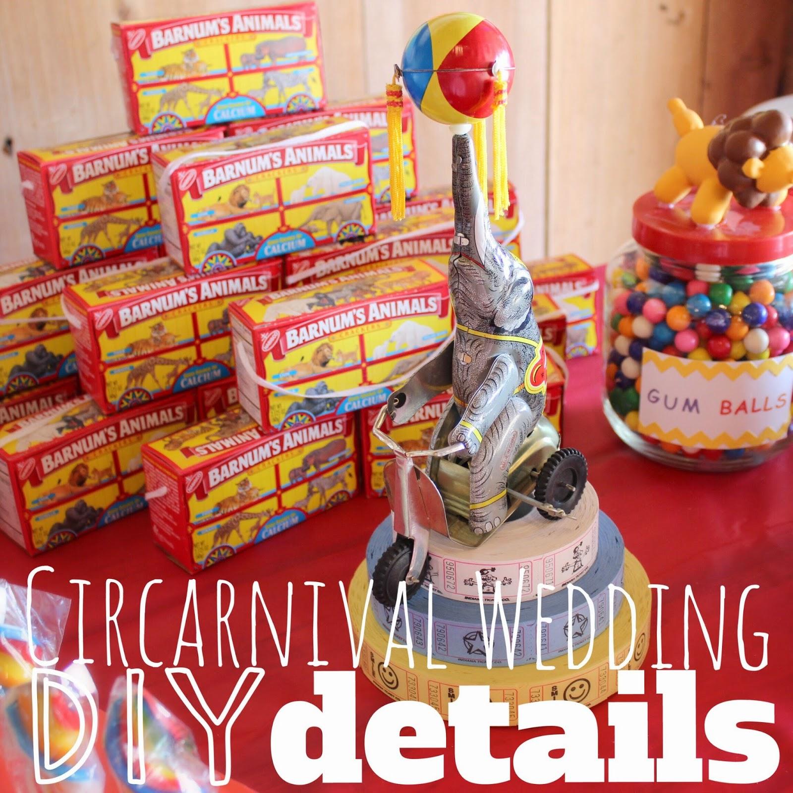 Lola, Tangled: Circarnival Wedding Details