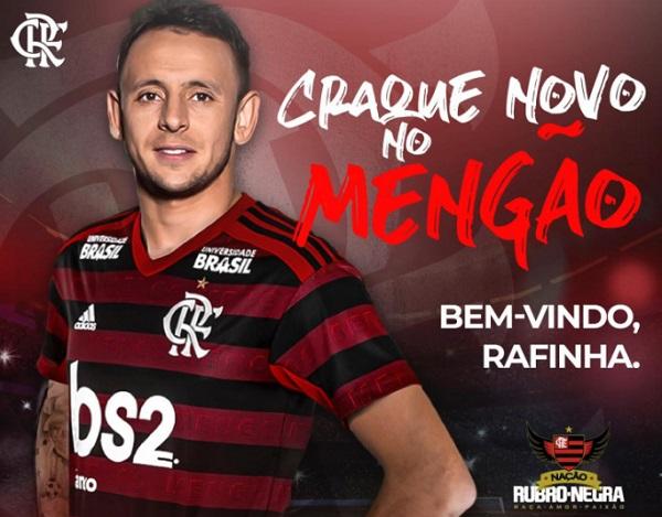 Flamengo e Rafinha se acertam e jogador retorna ao clube