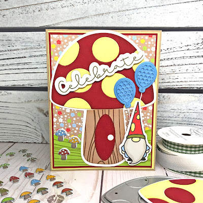 Lisa Mears Card Designs - The Stamps of Life April Card Kit - Card 6
