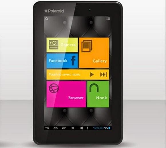 Tablet Polaroid M7 OS Android Berukuran 7 Inch