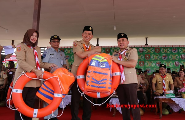 Barut Terima Bantuan dari Dishub Provinsi