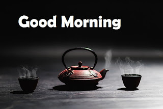 good morning tea cup
