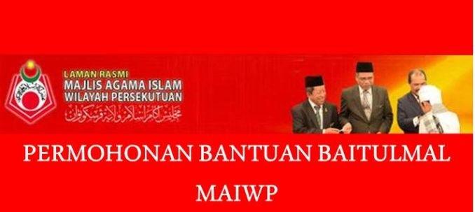 Permohonan Bantuan Zakat Baitulmal MAIWP
