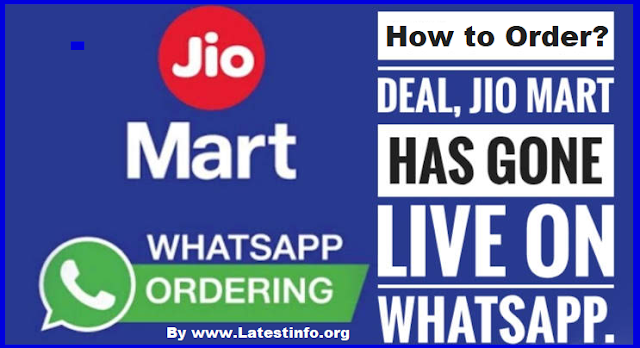 How to order from JioMart on WhatsApp