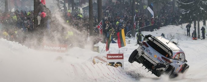 Thierry Neuville hace historia en el Rally de Suecia
