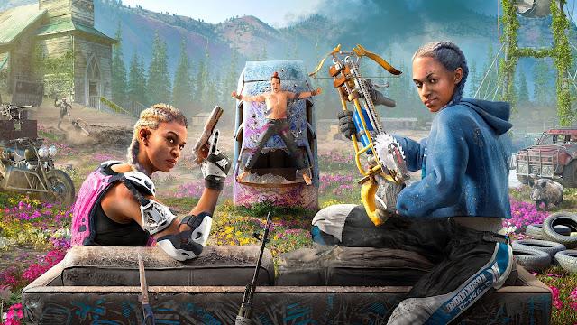 يوبيسوفت تكشف جميع تفاصيل لعبة Far Cry New Dawn وأهم المميزات الجديدة في هذا الجزء ..