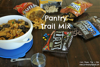 Pantry Trail Mix - a perfect snack to help clean out your pantry and kitchen