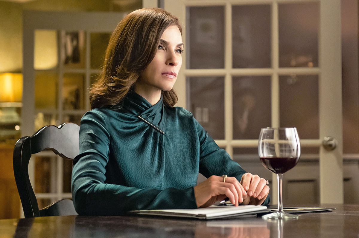 Julianna Margulies como Alicia Florrick en una escena de The Good Wife