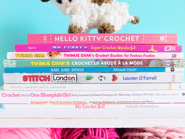 Mooeyandfriends My Crochet Book Collection Reviews Recommendations