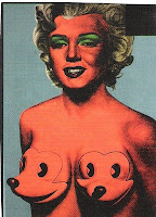 Ron English Marilyn Monroe w/ Warhol highlights