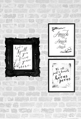 free Hocus Pocus printable art