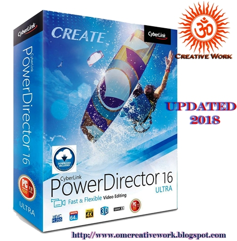 CyberLink PowerDirector Ultra 16  Free Download ( x86/x64) with Additional Fix
