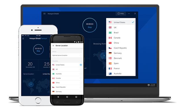 Hotspot Shield VPN تنزيل مجاني