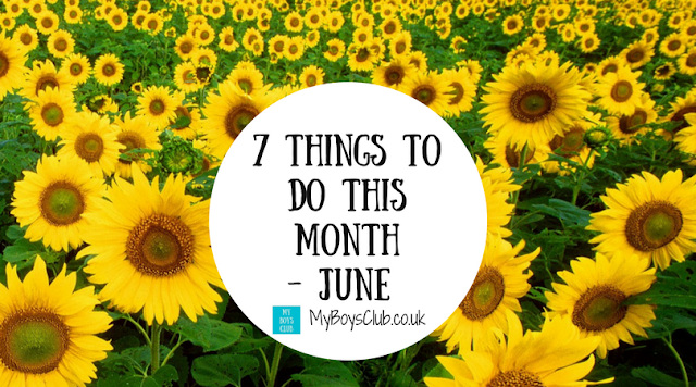 7 Things to do in the month of June -  places to go with and without the kids, what to watch, eat, make and listen to.