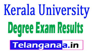 Kerala University Degree Exams Results 2017