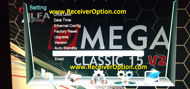 OMEGA CLASSIC 15 V2 1506T NEW SOFTWARE WITH ALFA IPTV & DIRECT BISS KEY ADD OPTION