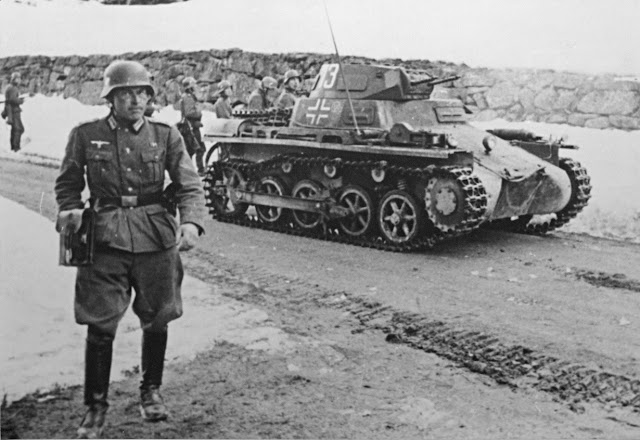 11 April 1940 worldwartwo.filminspector.com German Panzerkampfwagen