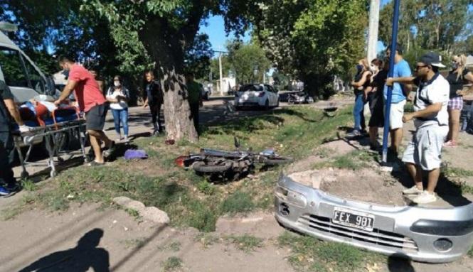 General Alvear: Murió una mujer tras ser atropellada por un joven de 17 años