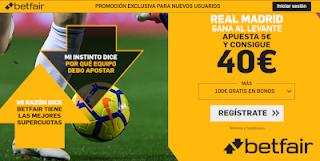 betfair supercuota Real Madrid gana a Levante 14 septiembre 2019