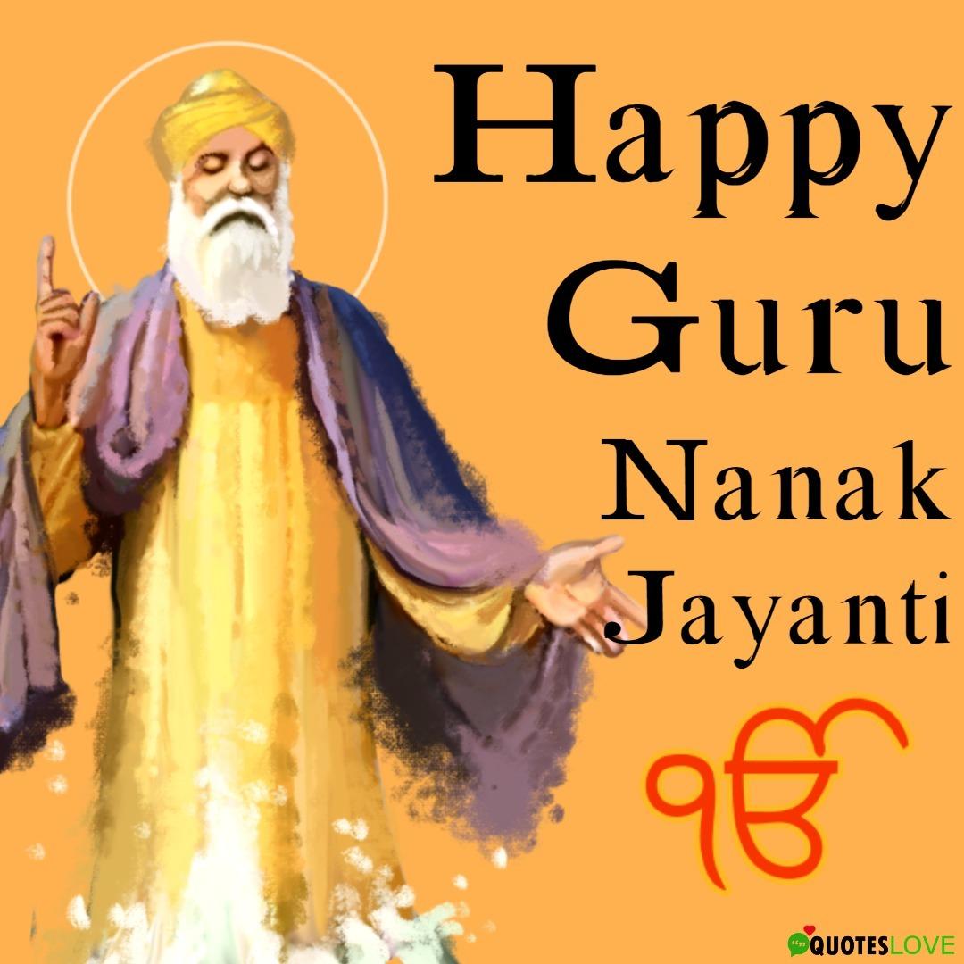 (Latest) Happy Guru Nanak Jayanti Images
