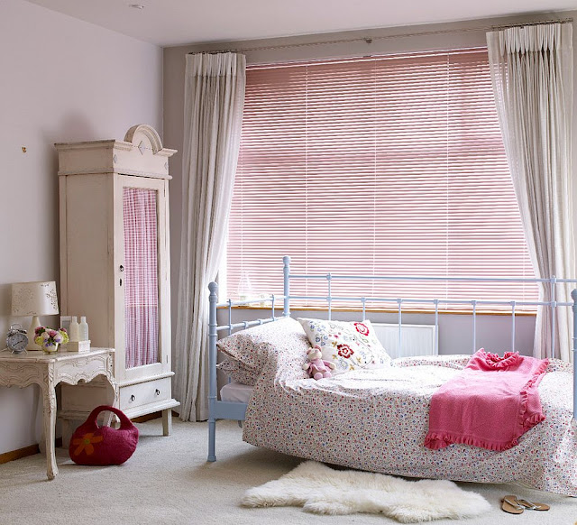 simple curtains, functional and understated