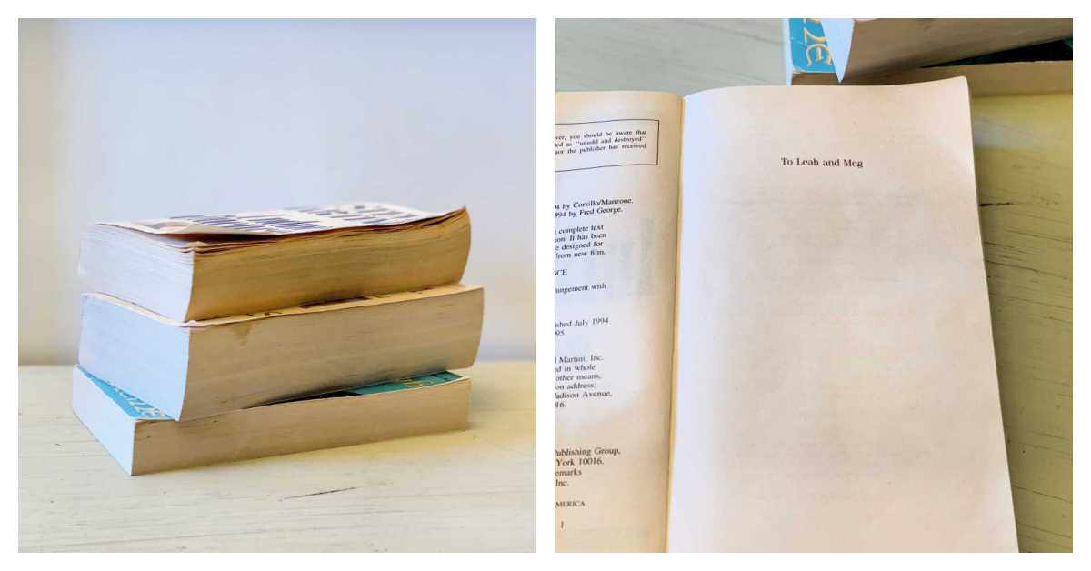 stamped book stacks