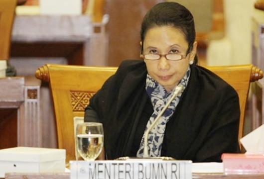 Gaduh Utang BUMN Rp5.000 T, Menteri Rini Melawan