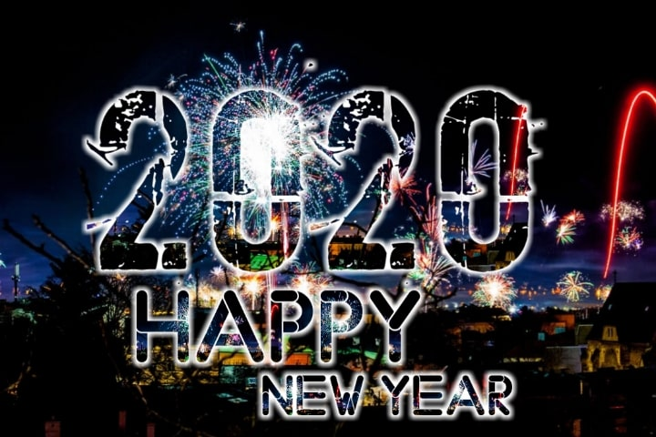 3D Happy New Year 2020 Images HD - Wallpaper 3D New Year