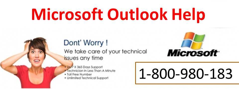 For instantaneous Microsoft Outlook Help  Dial 1-800-980-183