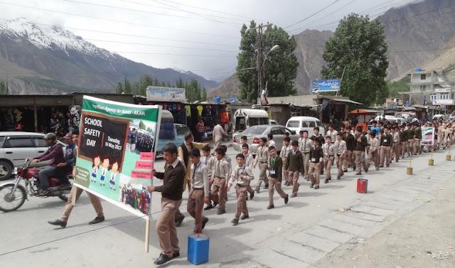 Aga Khan Agency for Habitat raises awareness on National School Safety Day in Pakistan