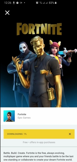 See Means to Install Fortnite Game on Android and iOS Right Now