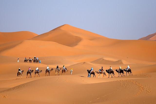4 DAYS TOUR FROM FES TO MERZOUGA DESERT
