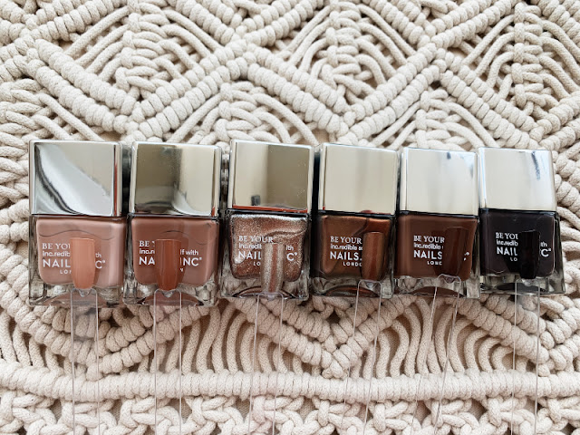 Nails Inc Sweet as Chocolate Collection Review