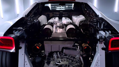 Audi R8 Engine Specifications
