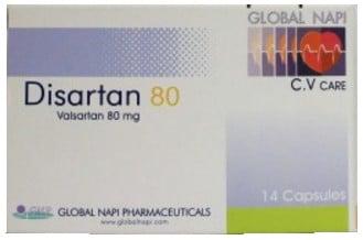سعر ودواعى إستعمال دواء دايسارتان Disartan لعلاج إرتفاع ضغط الدم