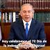 """El mensaje de Netanyahu por Iom Haatzmaut: """"Celebramos la reconstrucción del único Estado judío"""" (VIDEO)"""
