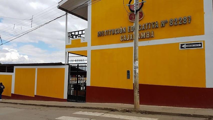 Escuela primaria Nº  82287 (ANTES 118) - Cajabamba