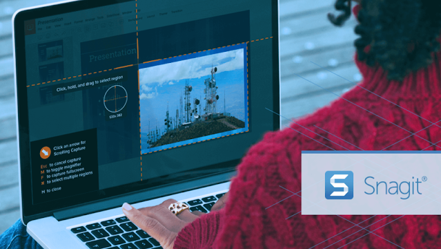 تحميل برنامج Snagit لتصوير شاشة الكمبيوتر اخر إصدار 2021