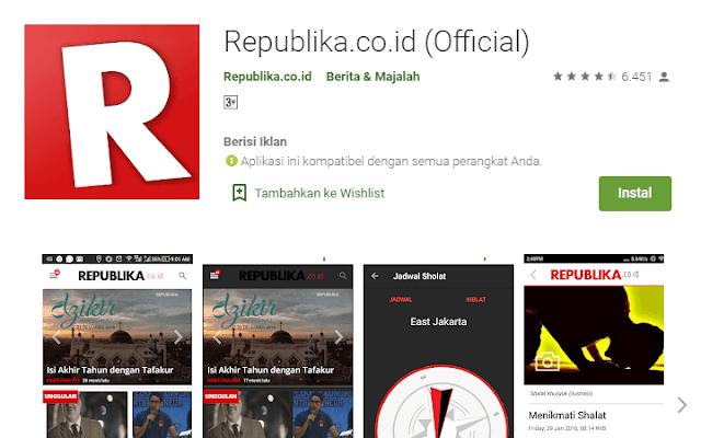Aplikasi Berita Republikacoid