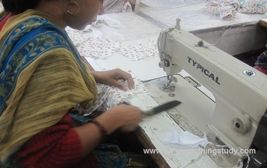 Labour wages in apparel industry